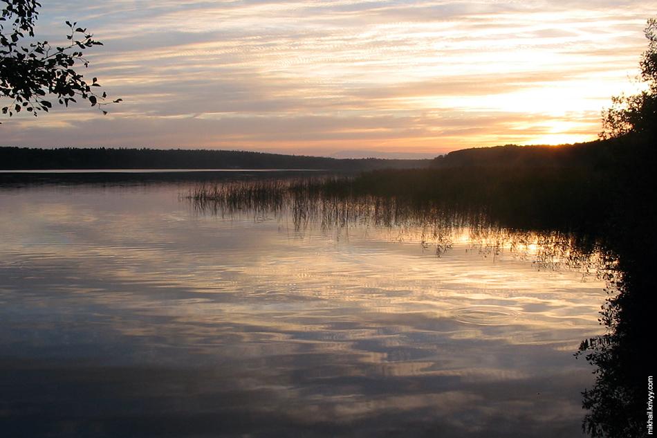 Череменецкое озеро.