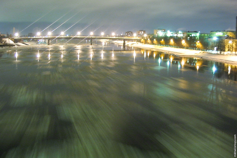 Волхов. Мост Александра Невского.