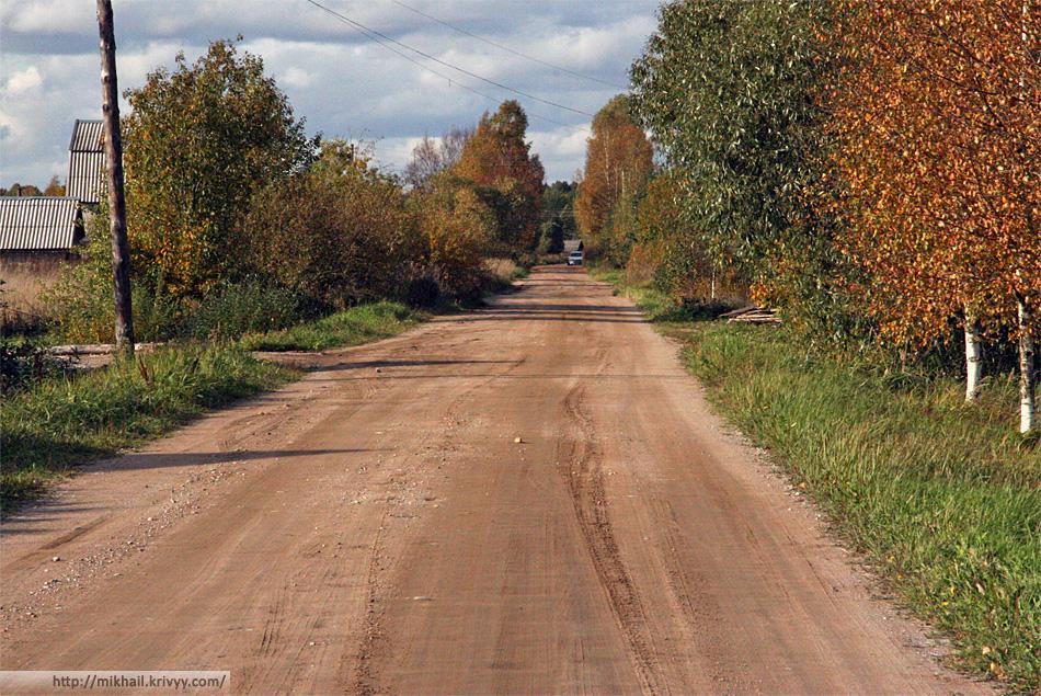 Деревня Березовка.