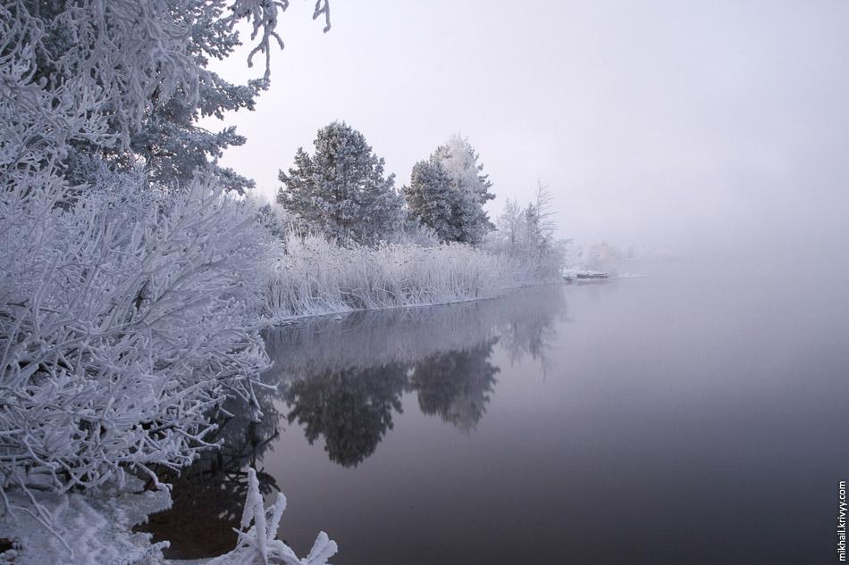 Озеро у Череповецкой ГРЭС. Кадуй.