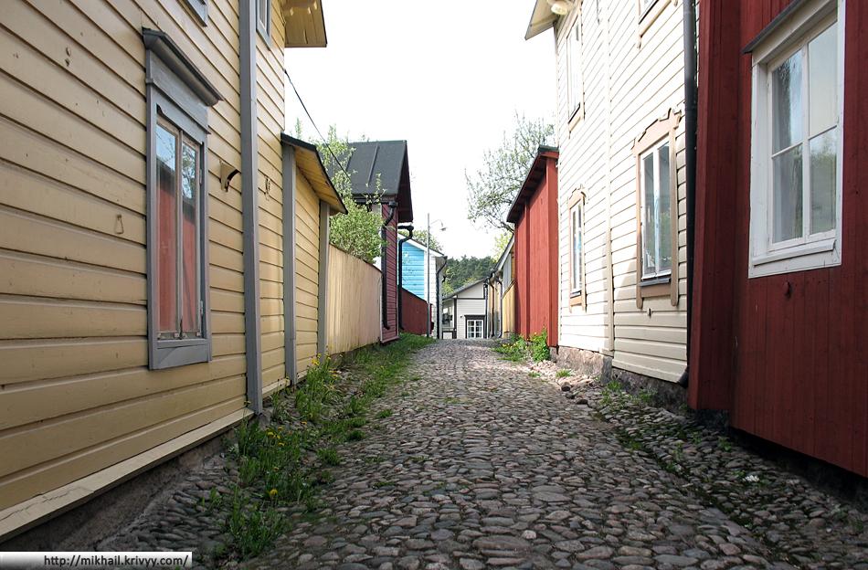 Старый город в Порвоо
