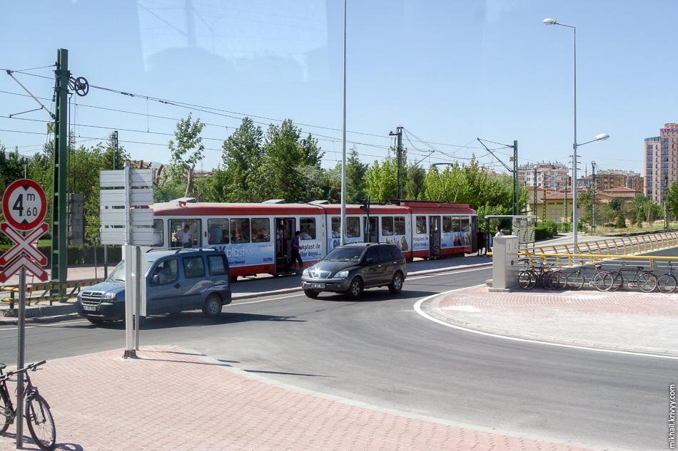 В Конье есть трамвай!