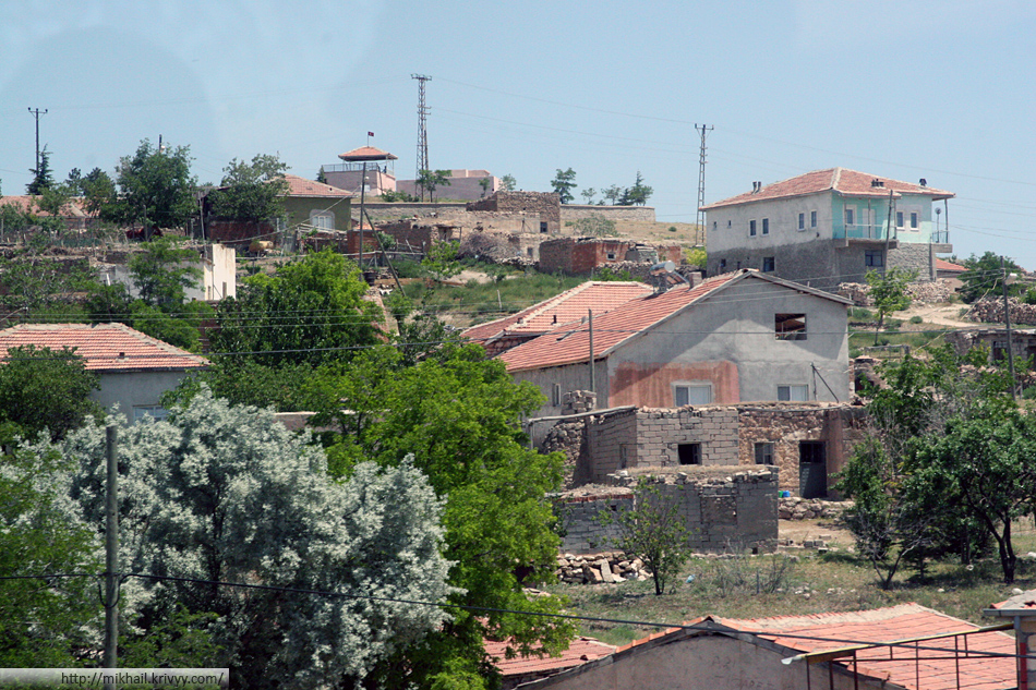 Типичные турецкие деревни.