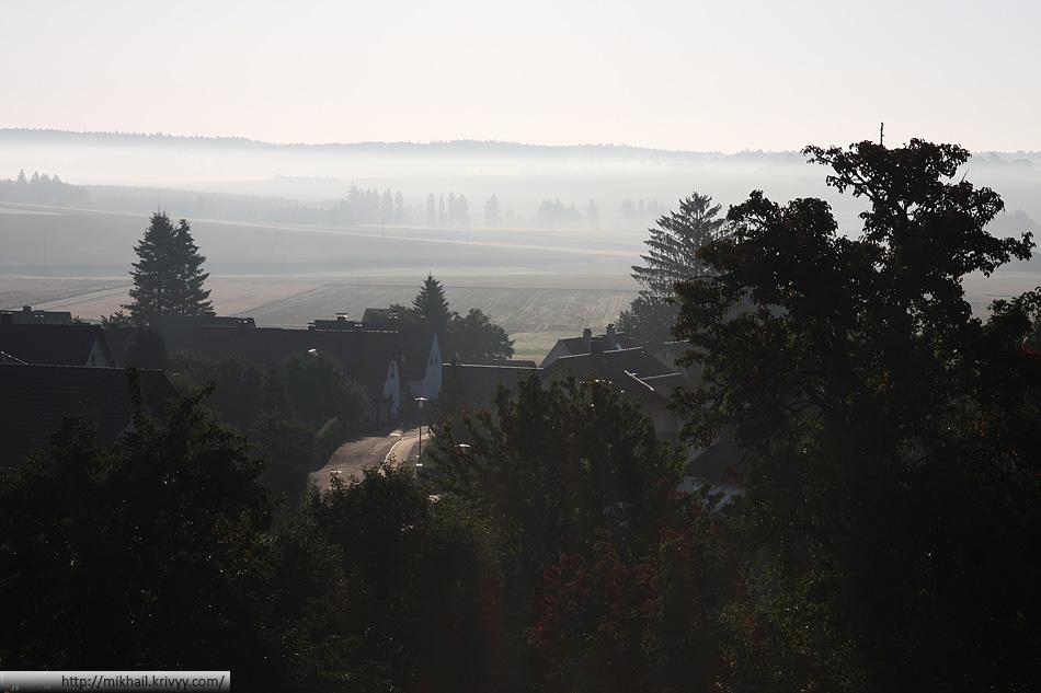 Что не утро - то туман и роса