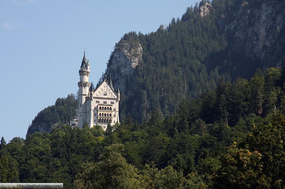 Самый знаменитый замок Германии – Нойшванштайн (Neuschwanstein)