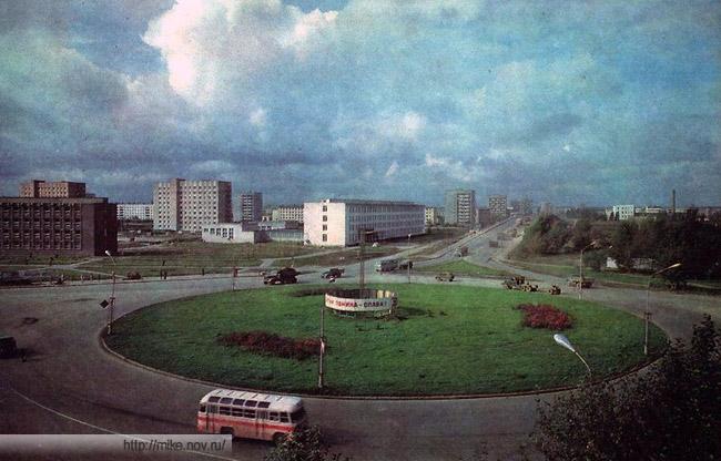 Площадь Труда. Новгород, 1960-1970