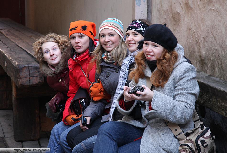 Тарелочники в Риге.