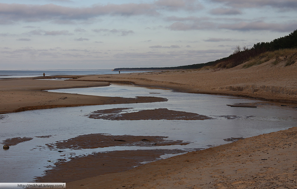 Пляж в Гарциемсе (Garciems, pludmale)