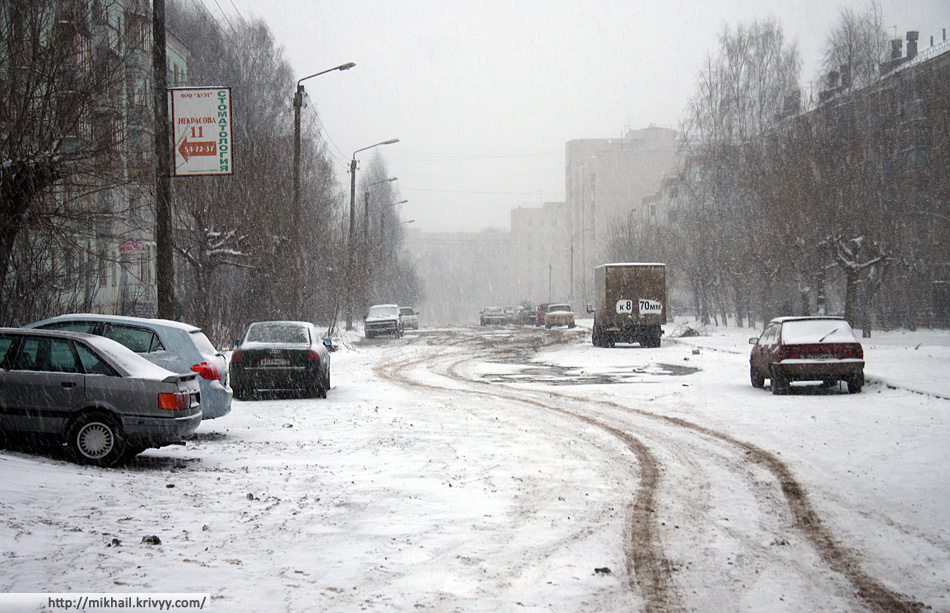 Улицы Кирова. 1 января.