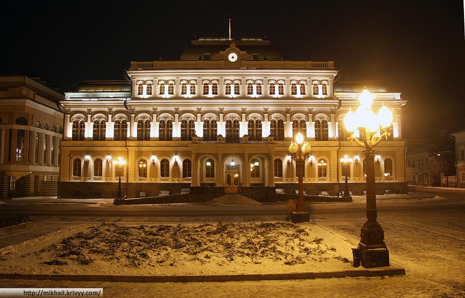 Казанская ратуша.
