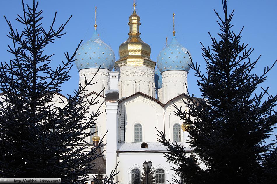 Казань. Кремль. Благовещенский собор.