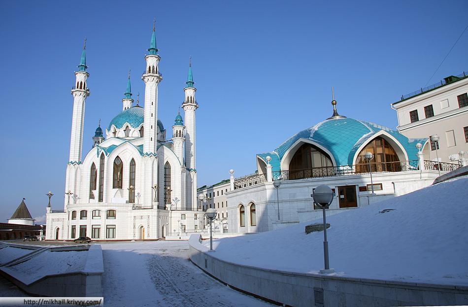 Казань. Кремль. Мечеть Кул Шариф.