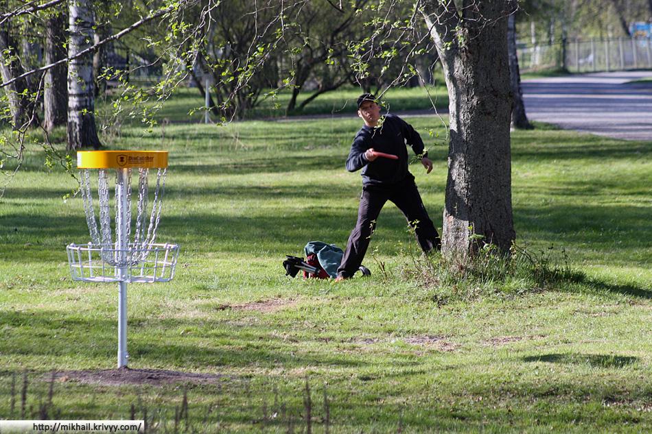 Первый этап чемпионата Финляндии по диск-гольфу.