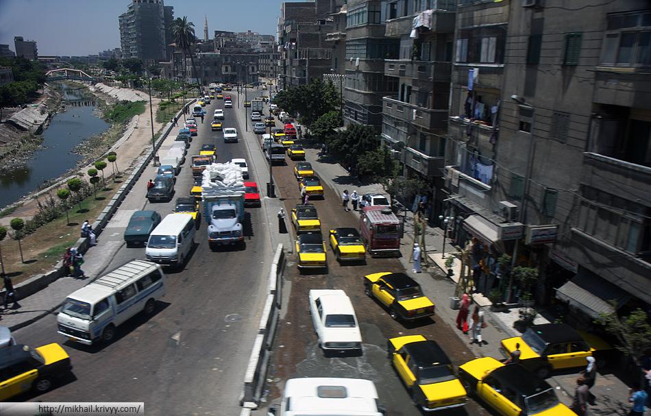Таксисты на Cairo Alexandria desert road