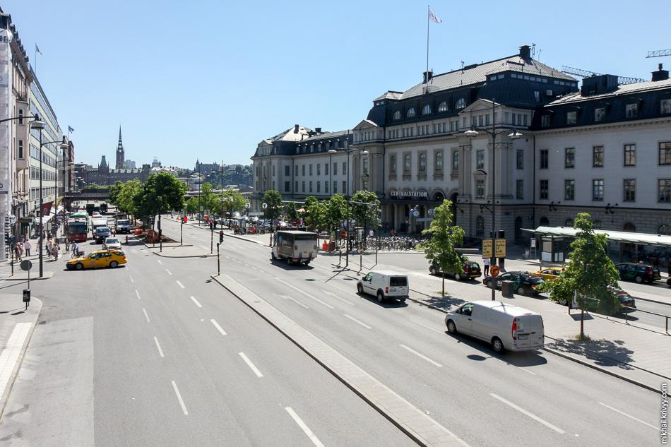 Центральный вокзал Стокгольма (T-Centralen)