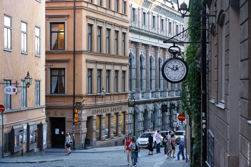 Стокгольм. Исторический центр.