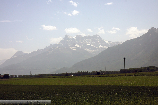Швейцарские Альпы.