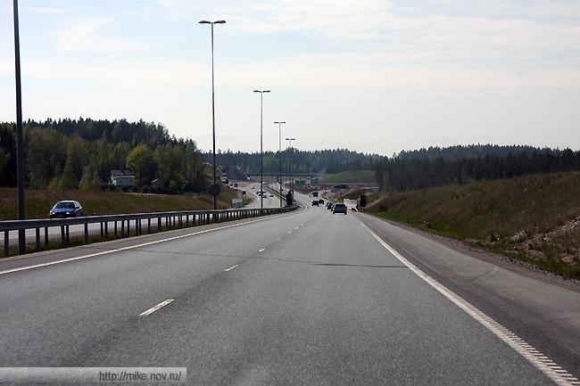 Новая автомагистраль Хельсинки - Турку