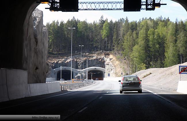 Серии тоннелей на автомагистрали Хельсинки-Турку