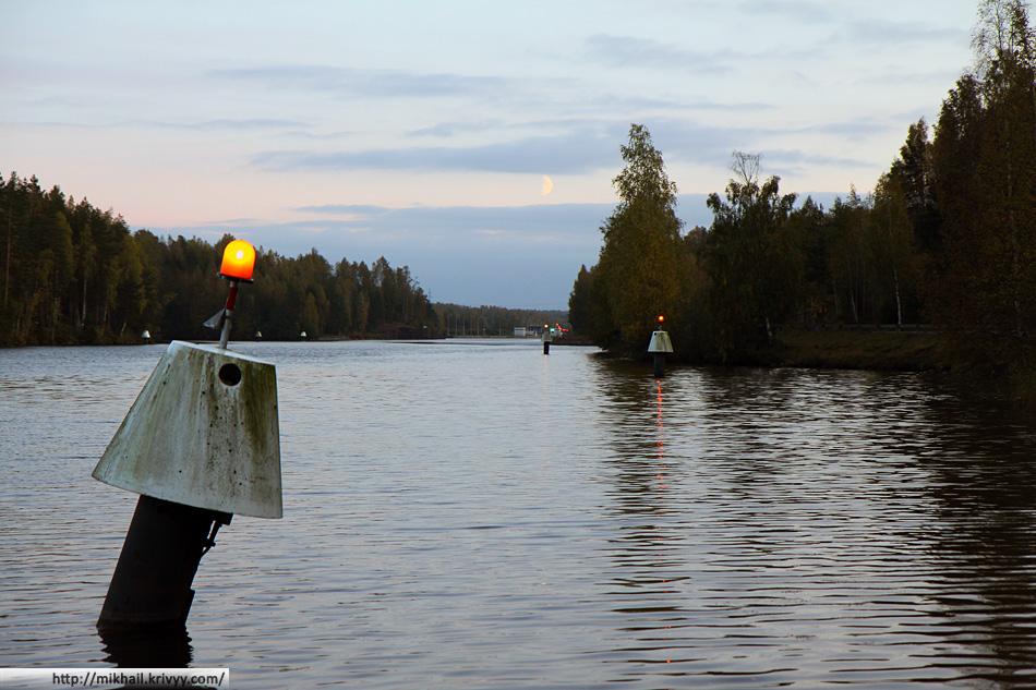 Сайменский канал. Брусничное - один из самых красивых пограничных переходов в России.