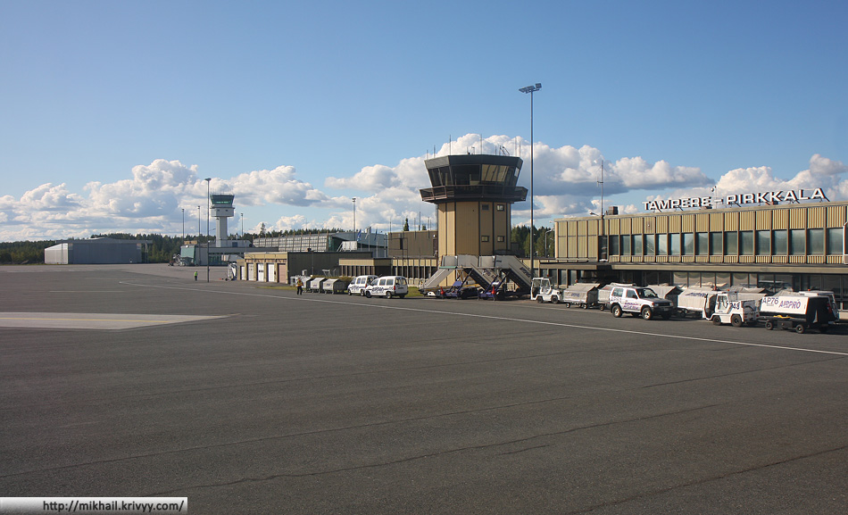 Аэропорт Tampere (Pirkala)