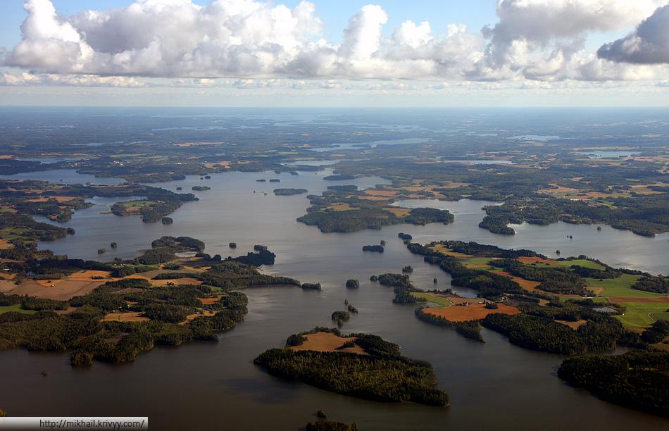 Страна 1000 озер. Район Тампере.