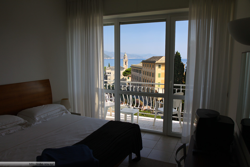 Вид из гостиничного номера L'Approdo