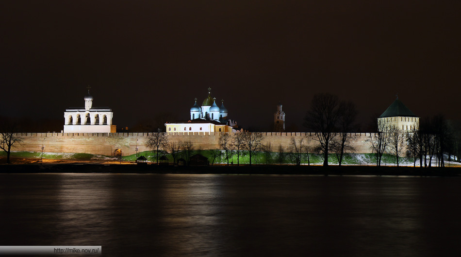 Новгородский Кремль, Звонница Софийского Собора, Софийский Собор и Часозвоня