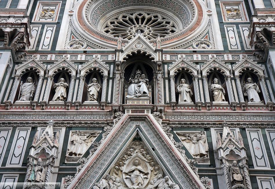 Декор собора Санта-Мария-дель-Фьоре, Дуомо