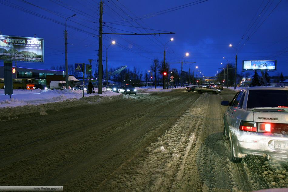 Улица Большая Санкт-Петербургская. Пожалуй, самая чистая на моем пути.