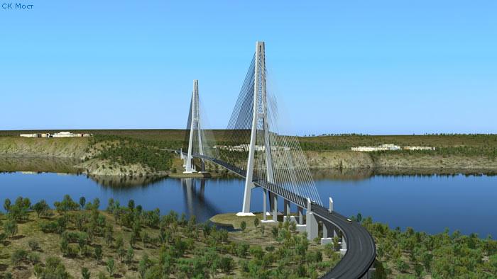 Строительство моста босфор восточный