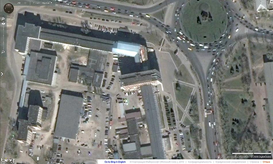 Новгородский Государственный Университет на картах Bing