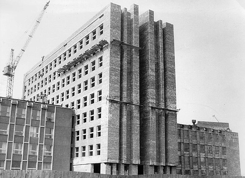 Строительство второго корпуса НовГУ