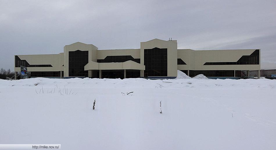 Внешний вид ледового дворца