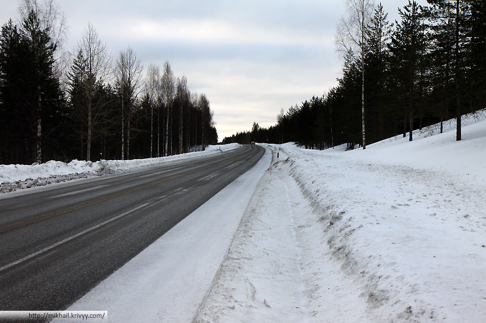 Дорога Лаапенранта - Йоенсуу