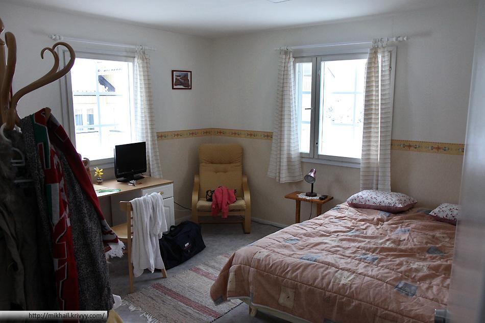 Комната в хостеле.