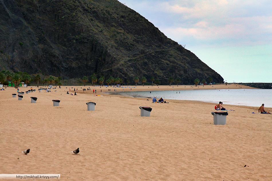 Пляж Las Tersitas