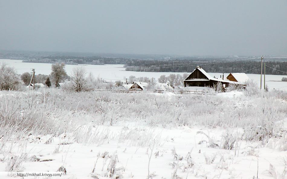 Валдайское озеро. Вид от M10/E105