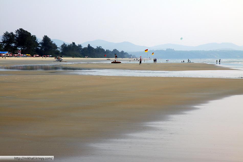 Пляж Кавелосим. Гоа, Индия.