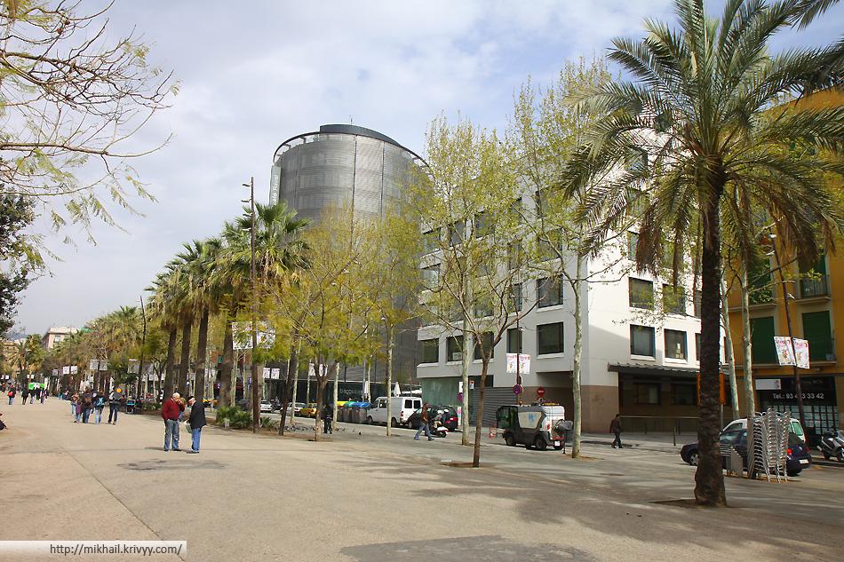 В Барселоне, на две ночи, мы остановились в гостинице Barcelo Raval на Rambla del Raval.