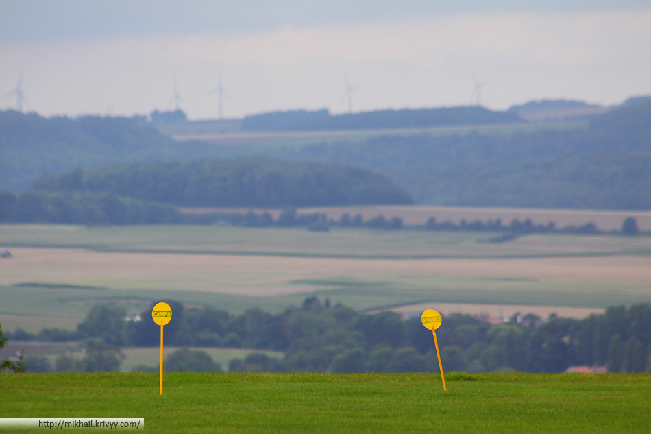 Панорамы на дистанции Олэн (Olhain)