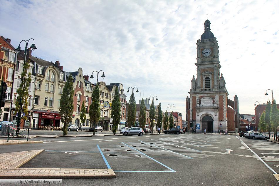 Ланс (Lens). Paroisse Saint Léger на Rue Diderot.