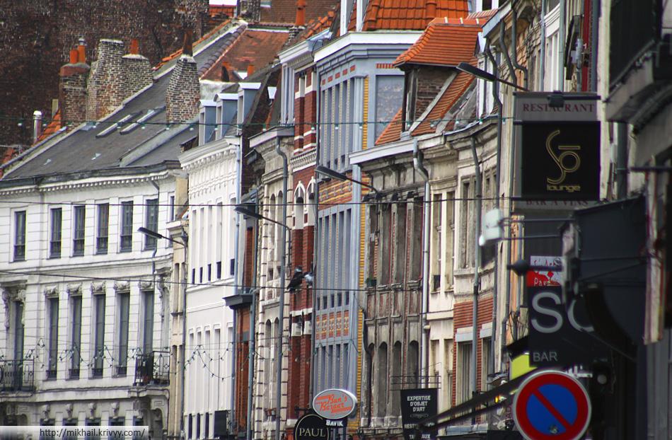 Улица Бас (Rue Basse), Лилль.