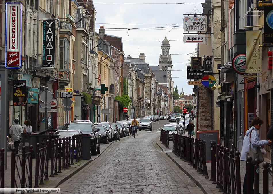 Улица Руаяль (Rue Royale). Лилль.