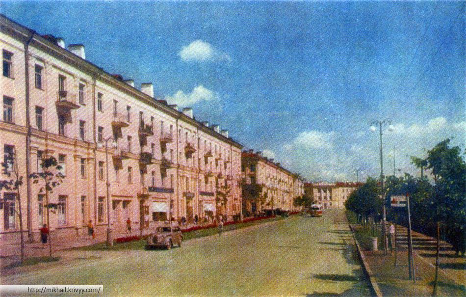 Новгород. Улица Горького