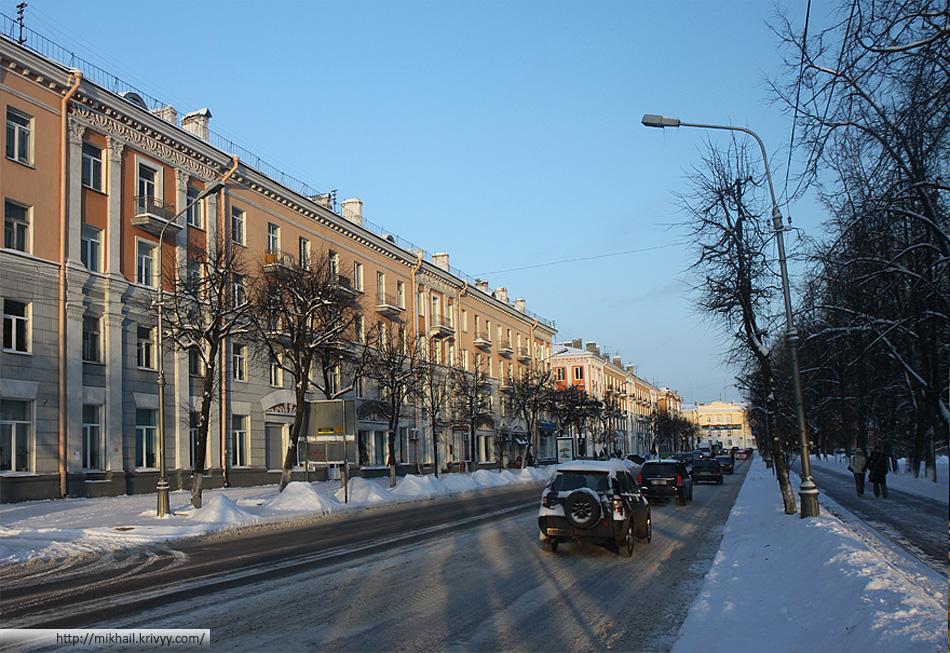 Великий Новгород. Улица Газон.