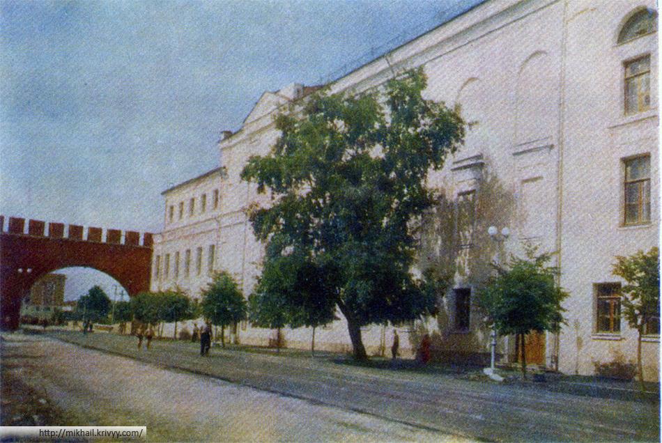 Новгород. Областной драматический театр.