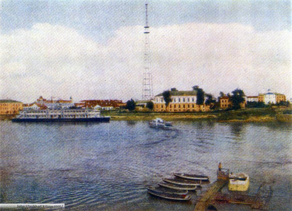 Новгород. Речной вокзал.