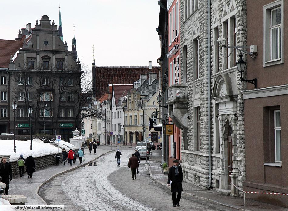 Старый Таллин. Улица Harju.
