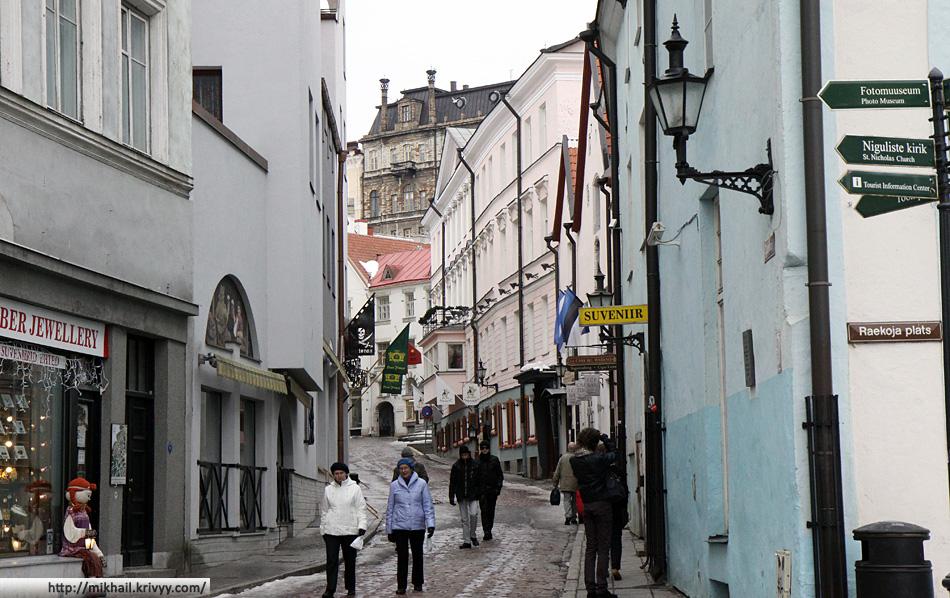 Старый Таллин. Моя любимая улица - ул. Dunkri.
